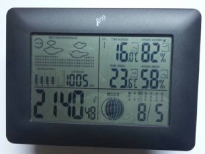 Luftfeuchtigkeit senken - Kontrolle durch Hygrometer